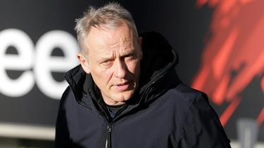 Christian Streich vom SC Freiburg würde ungern Trainer bei einem Topklub sein