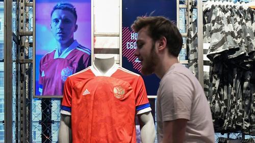 Rot, blau, weiß: adidas mit Panne bei russischen Trikots