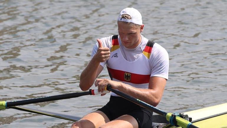 Oliver Zeidler hat in Tokio das B-Finale gewonnen