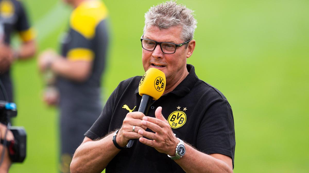 Norbert Dickel ist beim BVB eine Institution