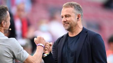 Hansi Flick besuchte die Partie 1. FC Köln vs. RB Leipzig