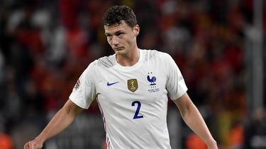 Benjamin Pavard steht in der Nationalmannschaft offenbar in der Kritik