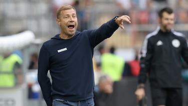Frank Kramer und Arminia Bielefeld hoffen auf Erfolgserlebnis