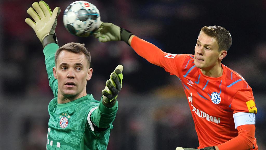 Manuel Neuer bekommt beim FC Bayern Konkurrenz von Alexander Nübel
