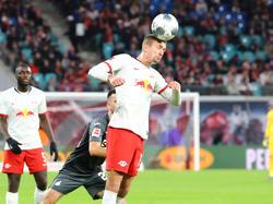 """Stefan Ilsanker wird auch in der Rückrunde für Leipzig """"seinen Kopf hinhalten."""""""