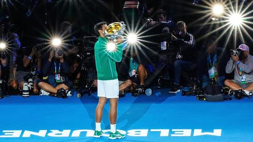 """Novak Djokovic ist der """"König von Melbourne"""""""