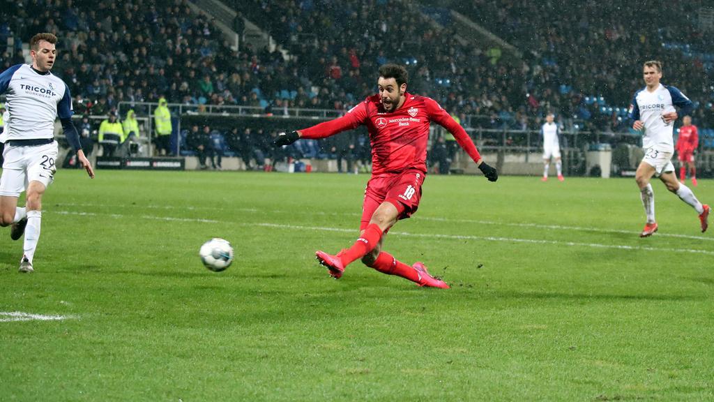 Al Ghaddioui versenkte den Ball zum 1:0 im Netz