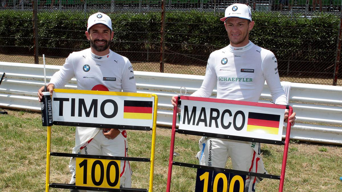 Marco Wittmann und Timo Glock bleiben auch 2020 Teamkollegen bei RMG