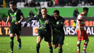 Wolfsburg jubelte insgesamt über vier Tore