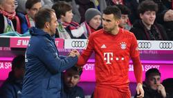 Derzeit nur Bankdrücker beim FC Bayern: Rekord-Einkauf Lucas Hernández