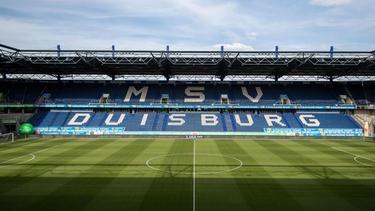 Das Stadion in Duisburg ist eines der Schauplätze der Europa League