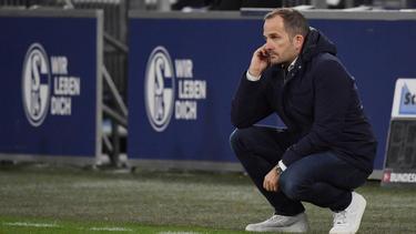 Manuel Baum bleibt mit dem FC Schalke 04 erfolglos