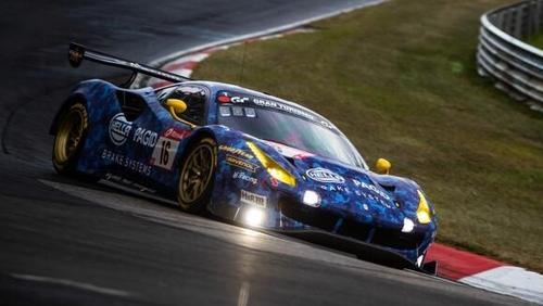 Racing One trat mit dem Ferrari bislang vor allem auf der Nordschleife in Erscheinung