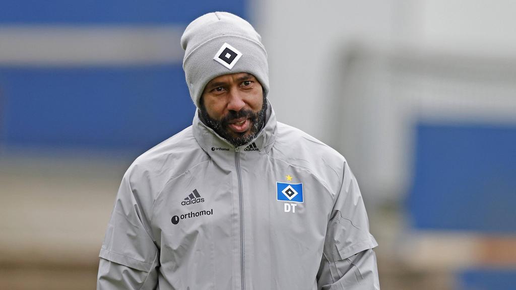 Daniel Thioune findet den Druck beim HSV