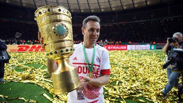 Rafinha feierte mit dem FC Bayern zahlreiche Erfolge