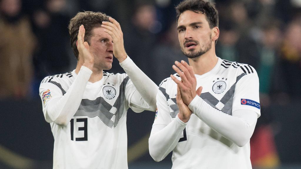 Thomas Müller vom FC Bayern und BVB-Star Mats Hummels vor dem DFB-Comeback?