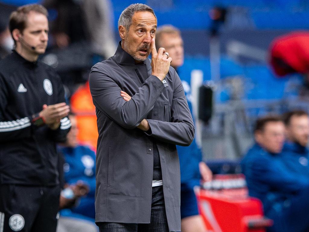 Bei Adi Hütter und Eintracht Frankfurt läuft es zurzeit nicht mehr richtig