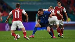 Italien musste gegen Österreich mächtig leiden