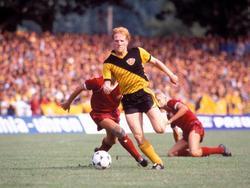 Sammer im Trikot von Dynamo Dresden 1989
