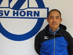 Masanori Hamayoshi ist neuer Chefcoach beim SV Horn