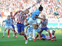 Für Atlético gab es gegen Málaga kaum ein Durchkommen