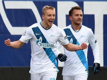 El único gol del encuentro lo marcó el defensa internacional Igor Smolnikov. (Foto: Getty)