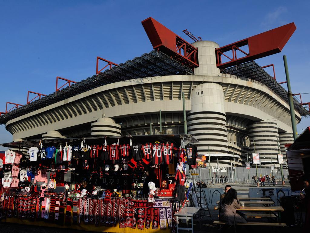 Noch teilt sich Milan eine Heimstätte mit Inter