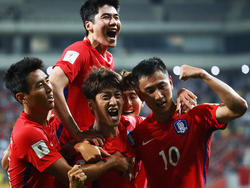 Südkorea darf sich über die erneute WM-Teilnahme freuen