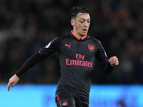 Mesut Özil war in der Europa League für den FC Arsenal erfolgreich