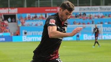 Lucas Alario traf einmal im Leverkusener Test