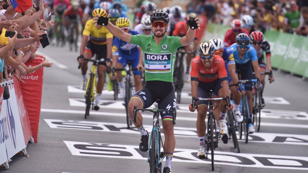 Peter Sagan holt sich seinen zweiten Etappensieg