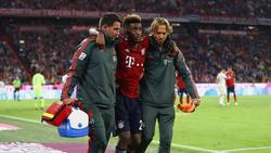 Kingsley Coman vom FC Bayern München hat sich erneut schwer verletzt