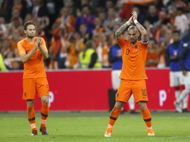 Wesley Sneijder no volverá a vestir de naranja. (Foto: Imago)