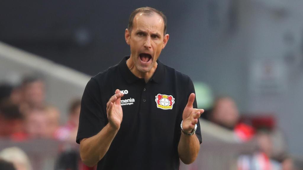 Ex-BVB-Stürmer Heiko Herrlich will als Bayer-Coach einen Sieg einfahren