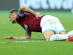 Marko Arnautović musste verletzt runter