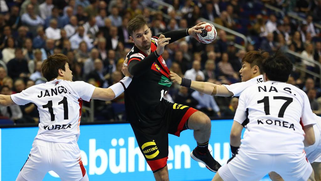 Deutschland Korea Handball