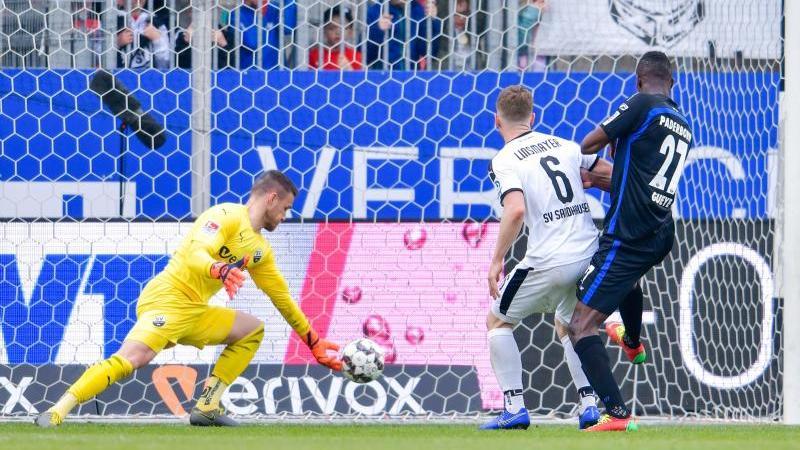 Der SC Paderborn kam in Sandhausen spät zum Ausgleich