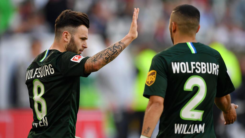 Renato Steffen erzielte gegen Hannover 96 einen Doppelpack