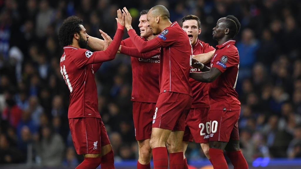 Der FC Liverpool setzte sich souverän gegen Porto durch