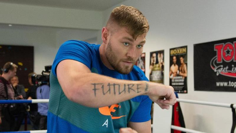 Geht selbstbewusst in den Kampf gegen Tyson Fury: Tom Schwarz