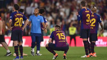 Der FC Barcelona verpasste das Double