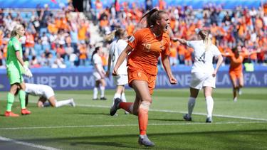 Las holandeses vencieron sobre la bocina.