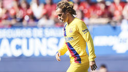 Antoine Griezmann konnte gegen Osasuna nicht überzeugen