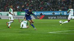 Dank Harit konnte Schalke jubeln