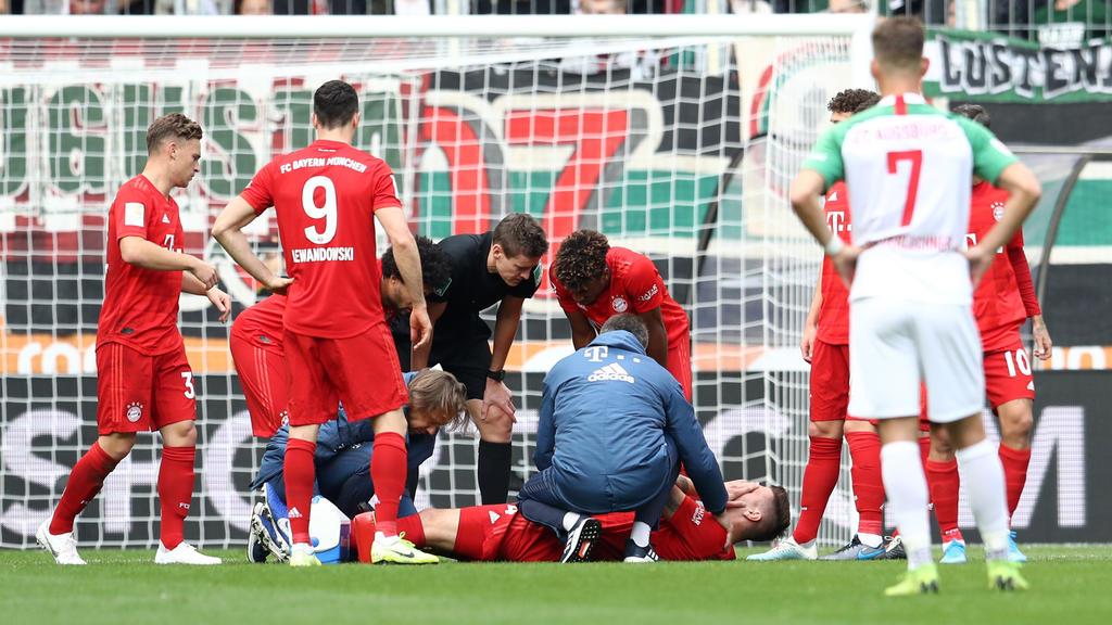 Bereits nach zwölf Minuten ausgewechselt: Niklas Süle