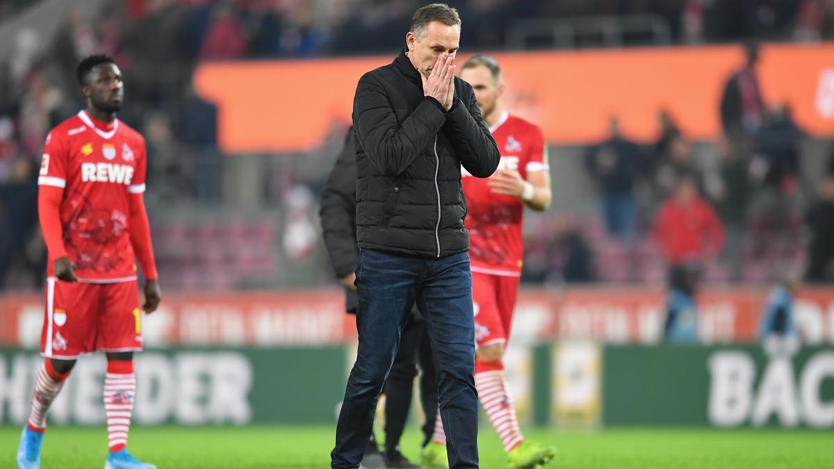 Achim Beierlorzer wurde am Samstag beim 1. FC Köln entlassen