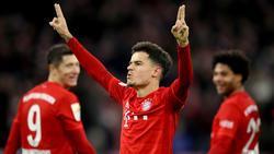Coutinho scheint beim FC Bayern angekommen zu sein