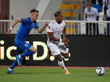 España sufrió durante todo el encuentro ante una selección menor.