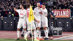 Juventus Turin feierte einen Sieg über AS Rom