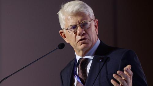 Franz Reindl, Präsident des Deutschen Eishockey-Bundes